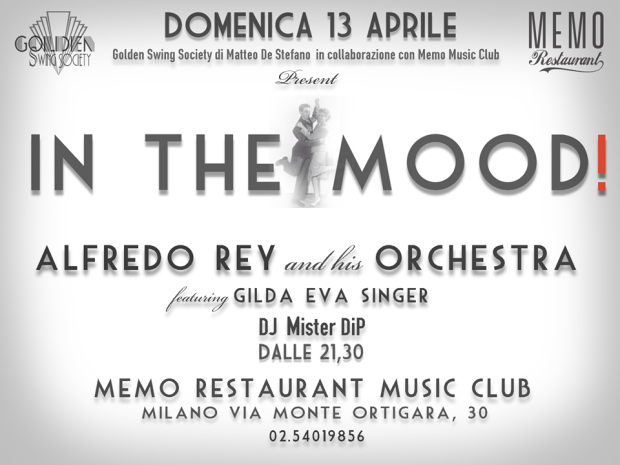 in the mood 13 aprile